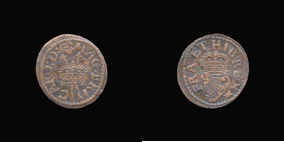 P0277__0 Farthing, Richmond Oval of Charles I